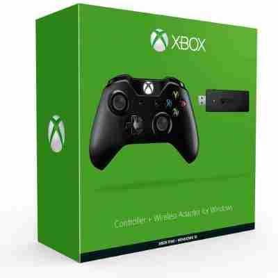 จอย Xbox One + Wireless Adapter for Windows
