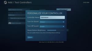 กลับไปใส่ชื่อของ Steam Controller ใหม่อีกครั้ง