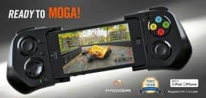 1 จอยเกมมือถือ MOGA ACE Power สำหรับ iPhone พับเก็บได้ พกพาสะดวก