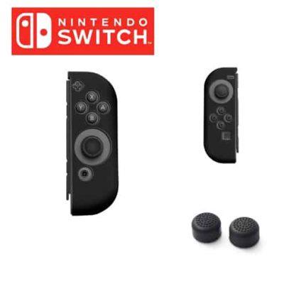 ซิลิโคน Joy Con Nintendo Switch สีดำ