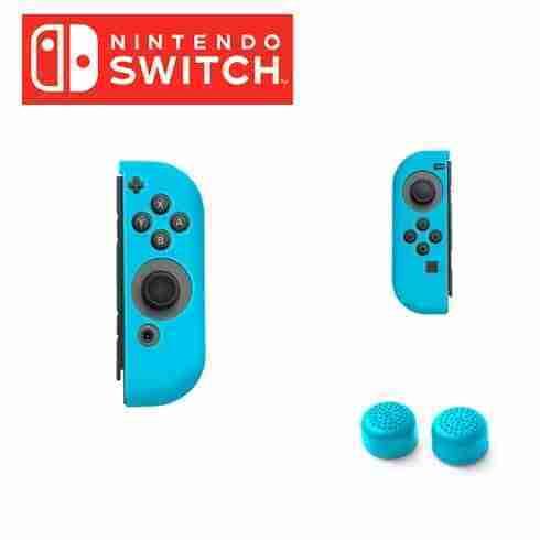 ซิลิโคน Joy Con Nintendo Switch สี ฟ้า