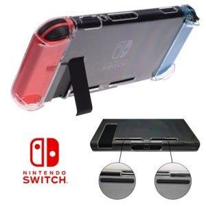 ด้านหลัง เคส Nintendo Switch เว้นช่องว่าง สำหรับ ขาตั้ง และ รูระบายอากาศ