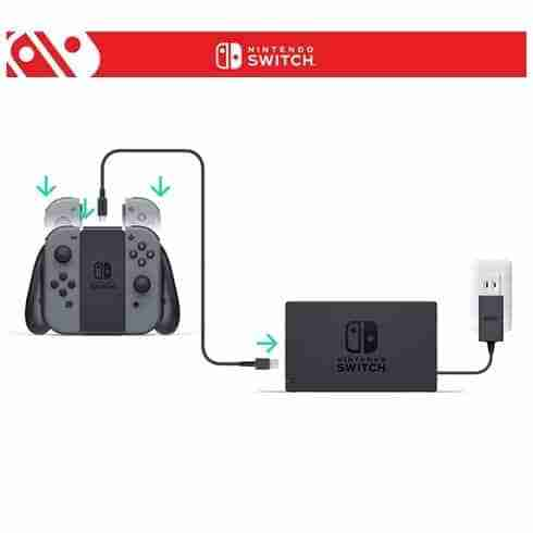 Nintendo Switch AC Adapter เสียบชาร์ตกับ Dock