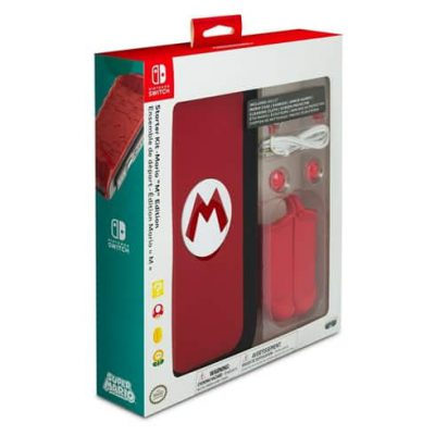 ขาย PDP Nintendo Switch Starter Kit - Mario M Edition