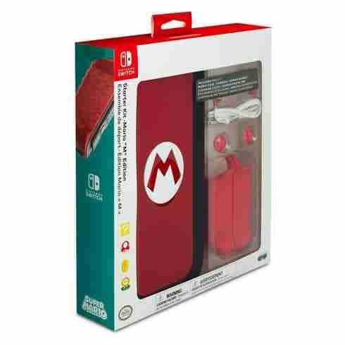 ขาย PDP Nintendo Switch Starter Kit - Mario M Edition