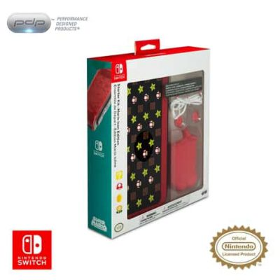 จำหน่าย-ขาย PDP Nintendo Switch Starter Kit - Mario Icon Edition