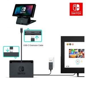รีวิว สาย USB 3.1 Type C Male to Female สำหรับ Nintendo Switch