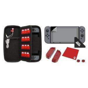 ในชุด PDP Nintendo Switch Starter Kit ประกอบไปด้วย อุปกรณ์เสริม ครบทุกอย่าง