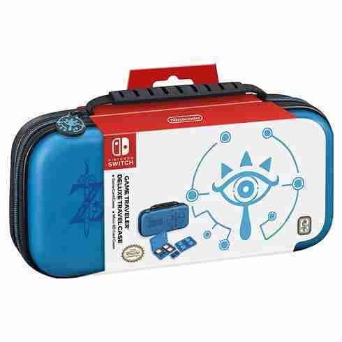 RDS Nintendo Switch Case- Zelda Breath of the Wild - Sheikah Eye - Blue01
