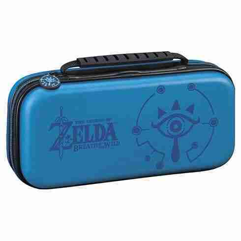 RDS Nintendo Switch Case- Zelda Breath of the Wild - Sheikah Eye - Blue02