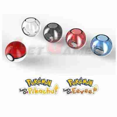 Case Pokeball Plus Nintendo Switch Pokemon Let's Go Pikachu & Eevee